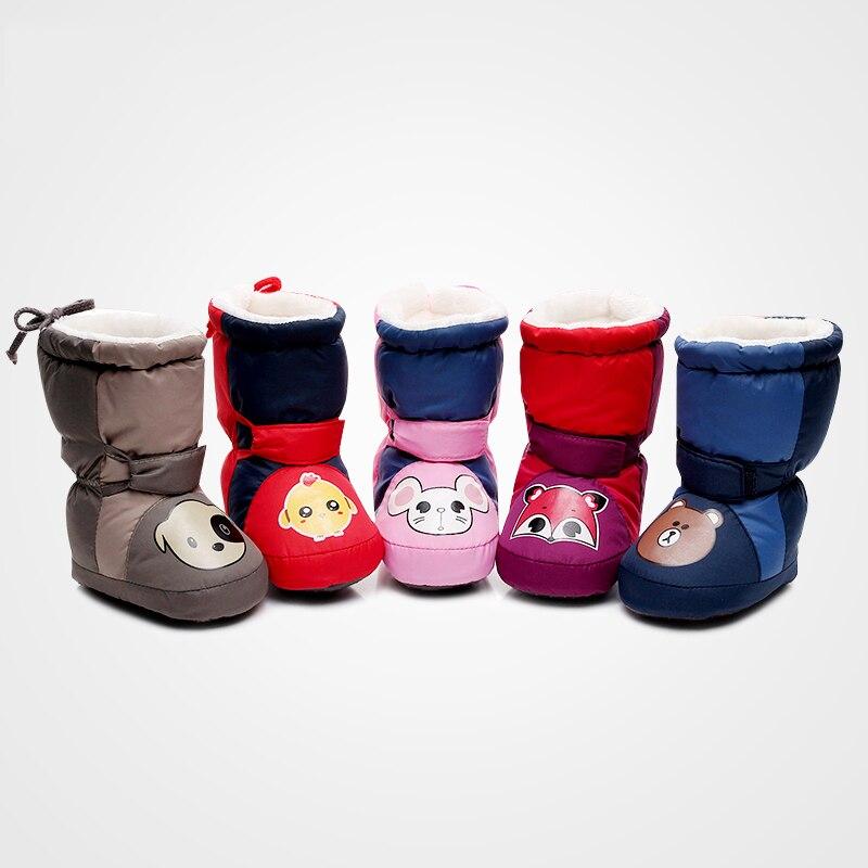 Baby Katoenen Schoenen Winter Dikker Warme Zuigelingen schoenen - Baby schoentjes - Foto 2