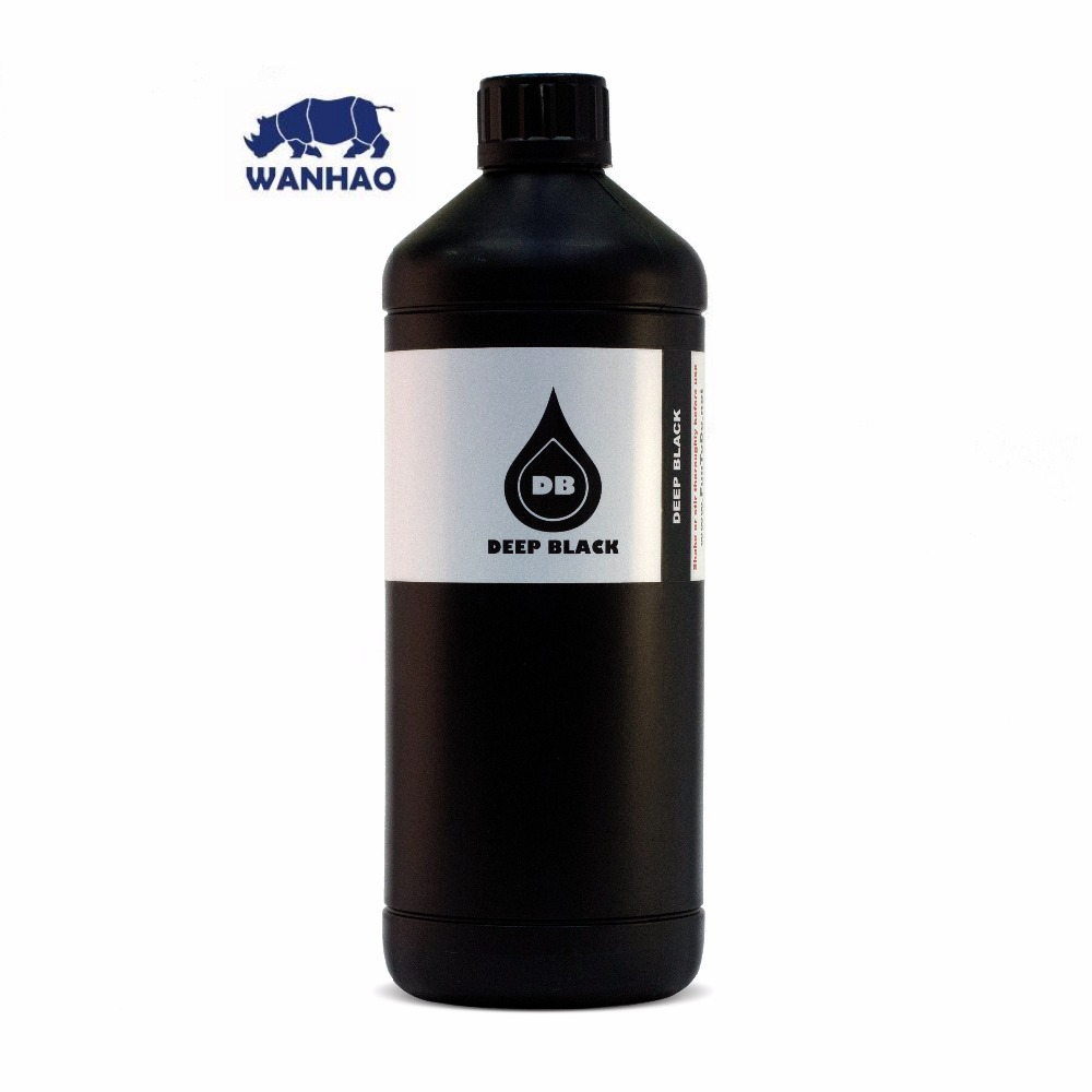 Printers Wanhao photopolymer resin for D7 FunToDo DEEP BLACK FUNTODO DB 1kg
