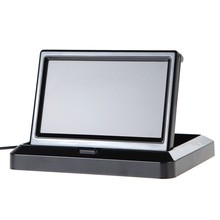 ANSHILONG 5″ Foldable Color LCD Monitor Car Reverse Rearview Monitor for Car Rear view Camera