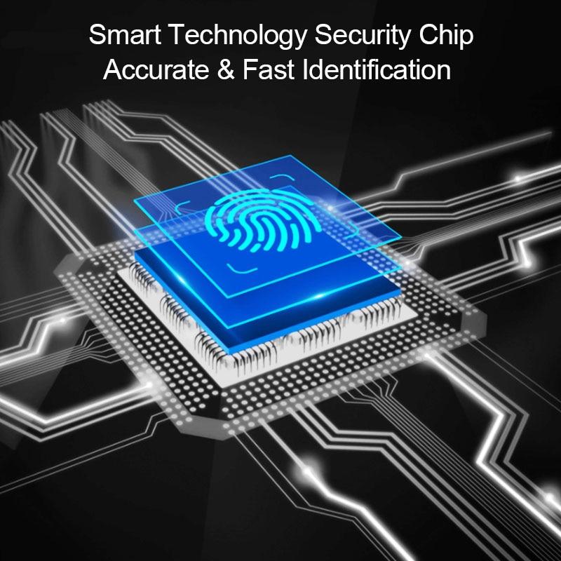 US $38 63 21% OFF Biometric Fingerprint Door Lock Home Apartment Wireless  App Phone Bluetooth Password Card Unlock Smart Lock Keyless Door Lock-in