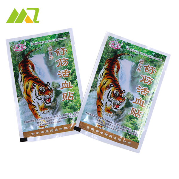 24 Piece 6 font b Bags b font Far IR Treatment Porous Chinese Medical Plaster Tiger