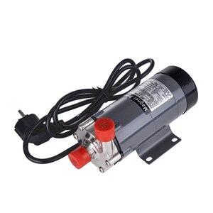 Image 2 - 磁気駆動ポンプ15rで304ステンレス鋼ヘッド、ビール醸造、220ボルトヨーロッパプラグ付き1/2nptスレッドce認証