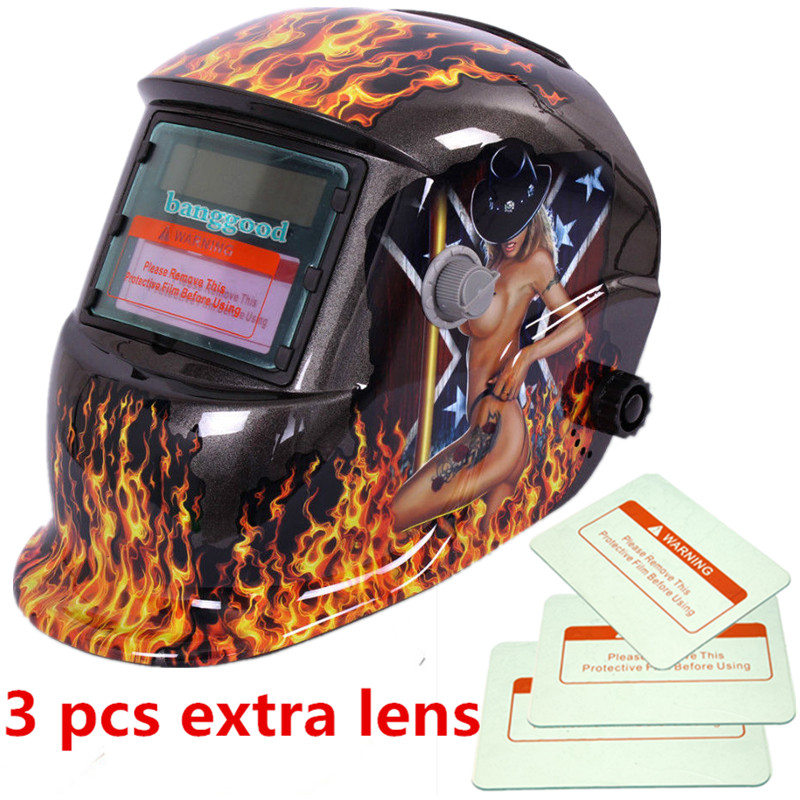 Brand New pro Solar Auto Darkening Welding Helmet Arc Tig Mig Certified Mask Grinding Welding Helmets For Operation Temperature цена