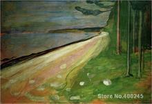 Spring in Asgardstrand.1905 by Edvard Munch