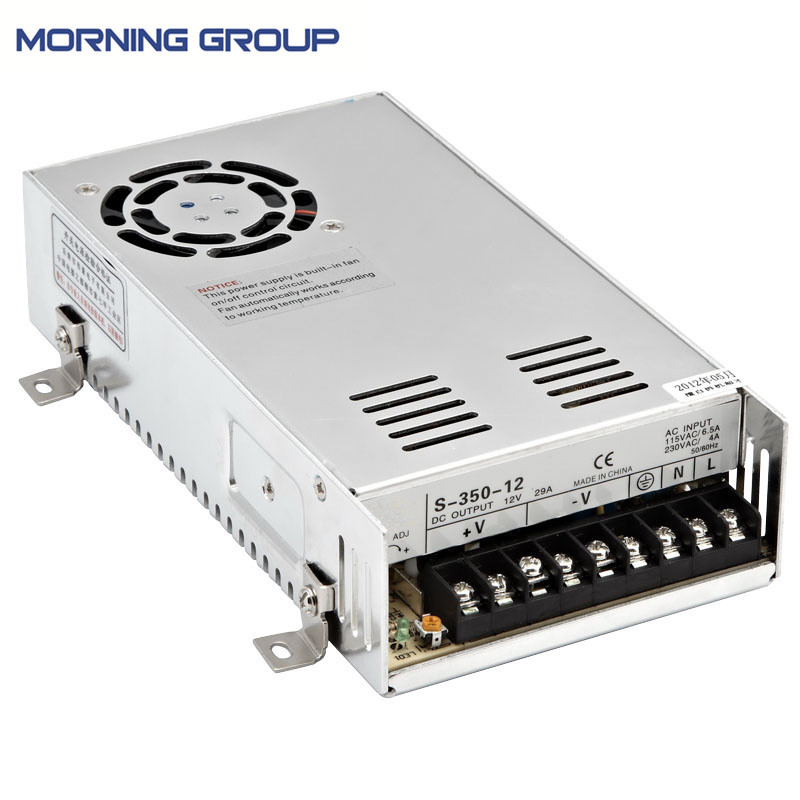 S-350 350W single group open frame ac to dc switching power supply 5V 12V 24V 27V 36V 48V 20pcs 350w 12v 29a power supply 12v 29a 350w ac dc 100 240v s 350 12 dc12v