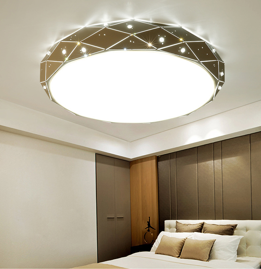 Ceiling Lights Bedroom Living Room 110-220v Flush Mount Ceiling Light Led Ceiling Lamp Bedroom Modern Simple