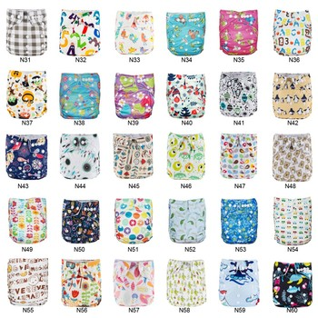 Panales Ecologicos BABYLAND 30pcs Cloth Diaper & Absorbents Waterproof Diaper Microfleece Pocket Diaper Prevent Leakage Nappies