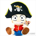 Free shipping One piece plush toys stuffed animal doll luffy pirate hat hotselling