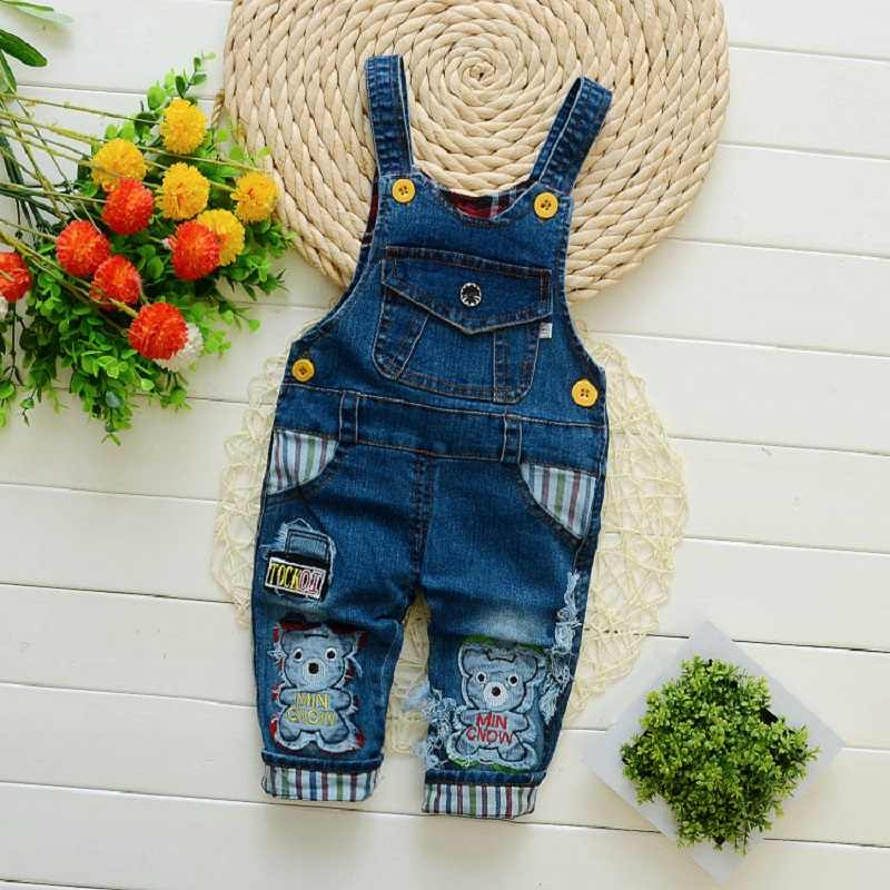 IENENS Toddler Infant Boy Long Pants Denim Overalls Dungarees Kids Baby Boys Jeans Jumpsuit Clothes Clothing Outfits Trousers