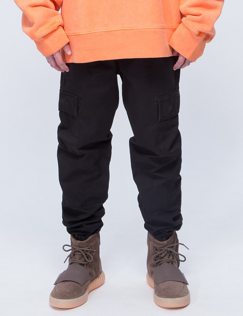 2016 осень новый sweatpats мужская joggerspat брюки большой ярдов мужчины брюки балахонах мужчины Черный Харлан брюки