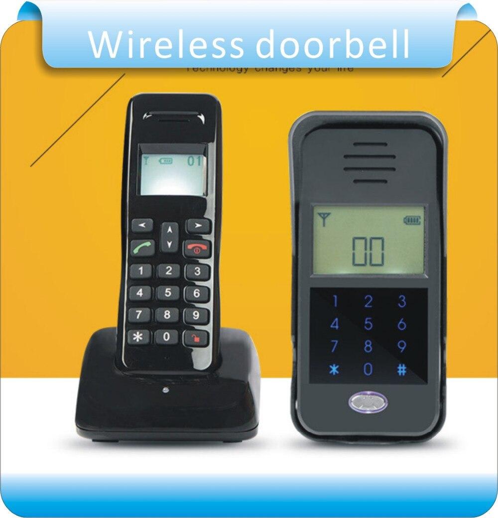 Vereinigt Freies Verschiffen Diy Wireless Audio Intercom Fernentriegelung 2,4 Ghz Full-duplex Wechselsprechanlage Digital Audio Gegensprechanlage Türsprechanlage StraßEnpreis Audio Intercom Sicherheit & Schutz