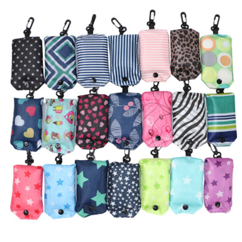 Multiple Styles 42*55 CM Baby Diaper Bags Children Waterproof Reusable Wet Bag Kid Printed Convenient Pocket Polyester Nappy Bag