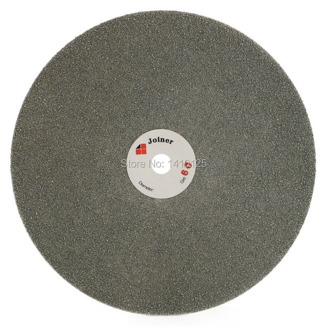 """8"""" inch 200mm Grit 60-3000 Coarse-Fine Diamond Abrasive Wheels Grinding Wheel Disc Coated Flat Lap Disk Lapidary Tools for Stone"""