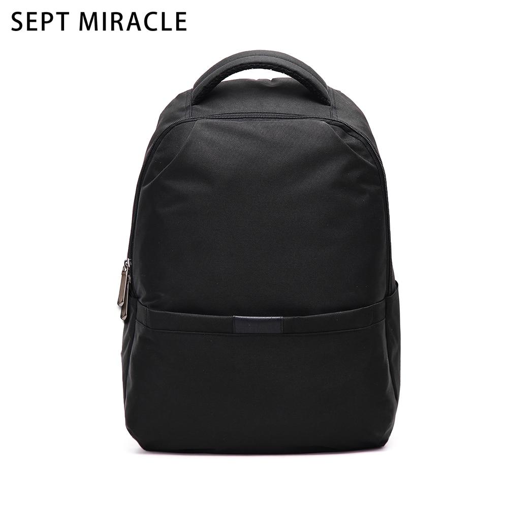 все цены на  Black Laptop Bag New Waterproof Oxford Cloth Notebook Bag Man Backpack Rucksack Travel Bag Women Simple Design College Back Pack  онлайн