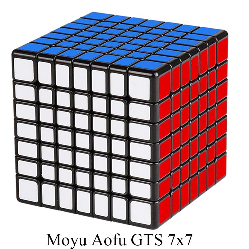 New MoYu 68mm AofuGTS 7x7x7 Vitesse Cube de puzzle Magique Professionnel Cube Cubo Magico Aofu GTS 7x7 jouets éducatifs Enfant Cadeaux