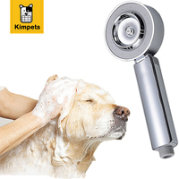 KIMHOME PET Multi Functional Pet Dog Cat Shower Head Spray Drains Strainer Washing Hair Pet Water