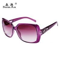 Frauen großen sonnenbrille flut Europa und die Vereinigten Staaten voll rahmen o-sonnenbrille platz gesicht mode-trend gläser anti-u