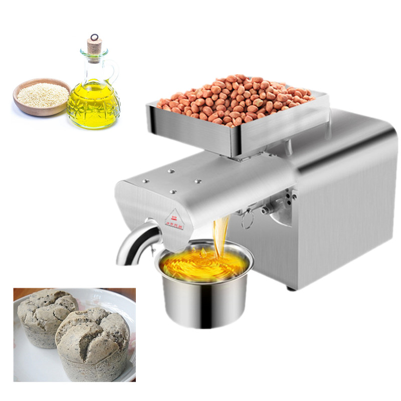 Smart stainless steel oil presser 300w commercial or home flaxseeds oil expeller cold&hot press oil machine for olive kernel nutSmart stainless steel oil presser 300w commercial or home flaxseeds oil expeller cold&hot press oil machine for olive kernel nut