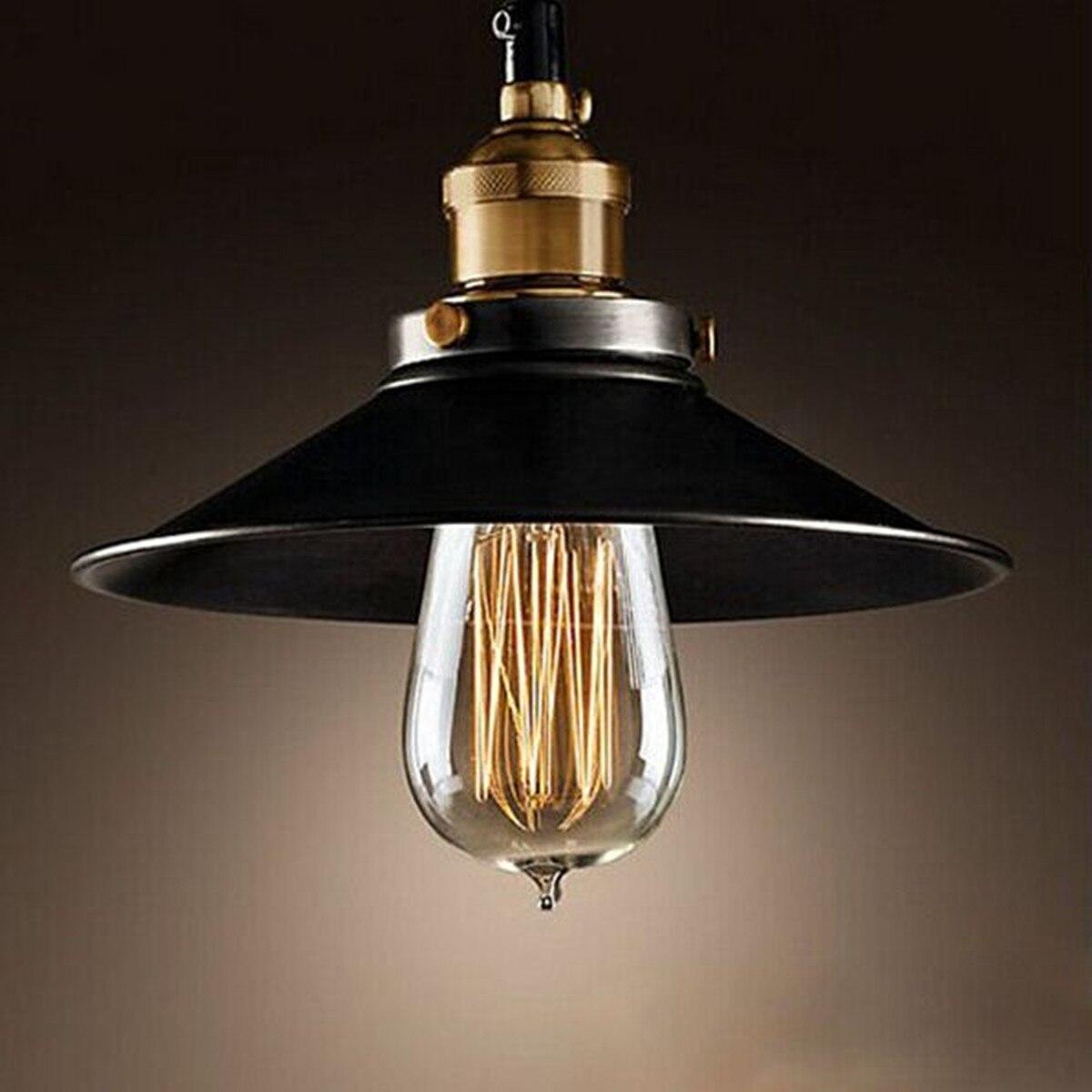 American Countryside Vintage Industrial Pendant Lights Home Restaurant Bar Lamp american countryside industrial vintage