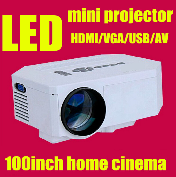 ФОТО Mini digital 3D  Projector Multimedia LED LCD with/ Remote Laptop Desk 100