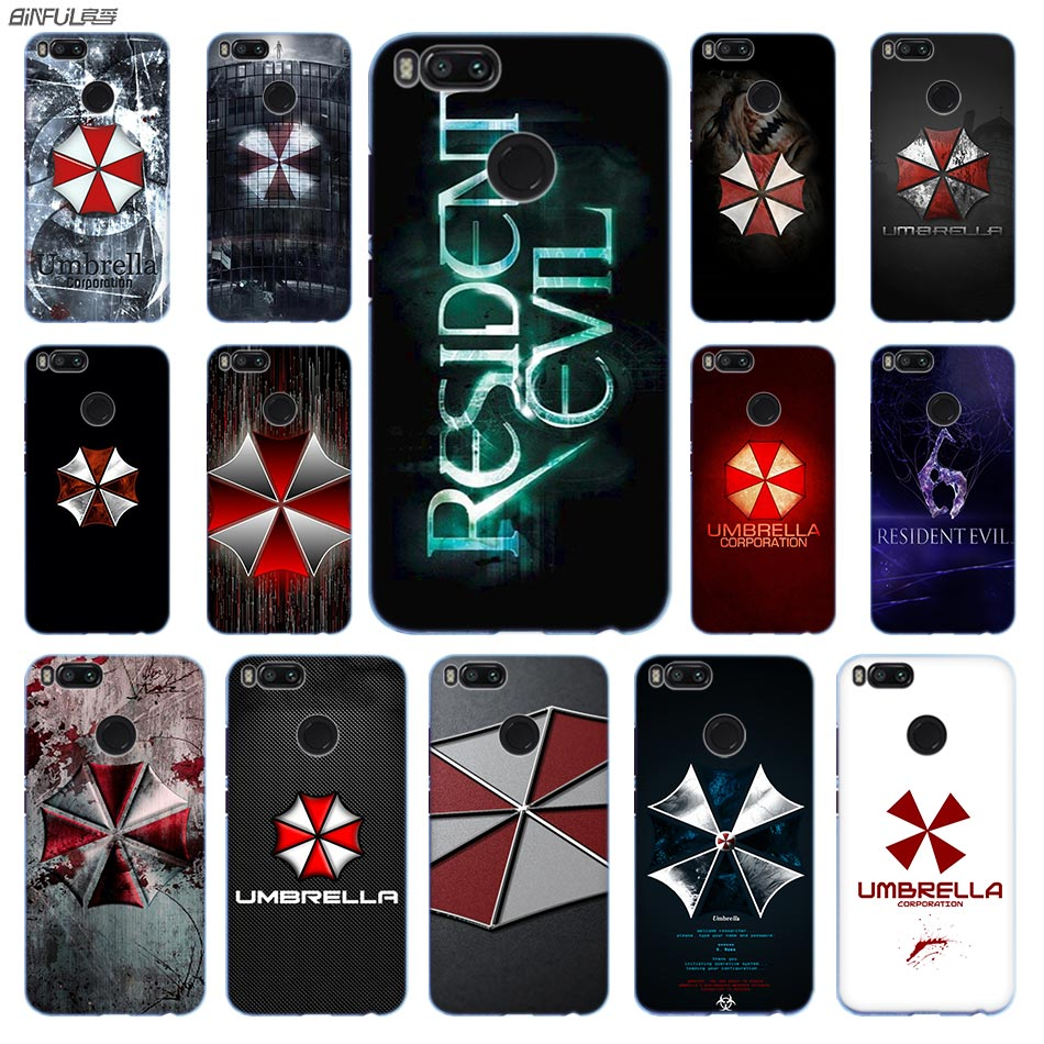 Cellphones & Telecommunications Phone Case Resident Evil Umbrella Logo Cover For Xiaomi Mi 6 8 Lite Se A1 A2 5x 6x Mix 2s F1 Shell Phone Bags & Cases
