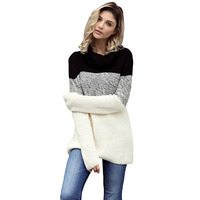2018 Spandex Computer Knitted Turtleneck Special Offer Poncho Jumper Winter New Knitting Design Long Sleeve Pullover Sweater