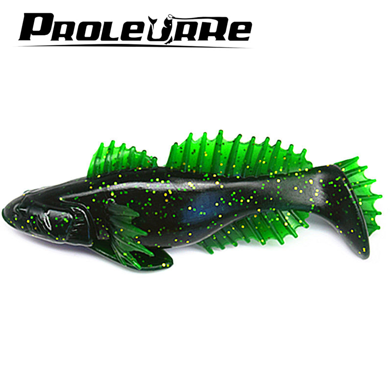 1Pcs 10cm 20g Popular Soft Fishing Lure Soft Bait Swimbaits Jig Head Soft Lure Fly Fishing Bait Plastic Artificial Lure YR-447 1pcs 3d eyes long tail luminous soft fishing lure abdomen open hook soft bait 12 5cm 6g jig head soft lure fly fishing baitt