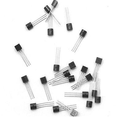50Pcs 2N3904 TO 92 NPN General Purpose Transistor-in