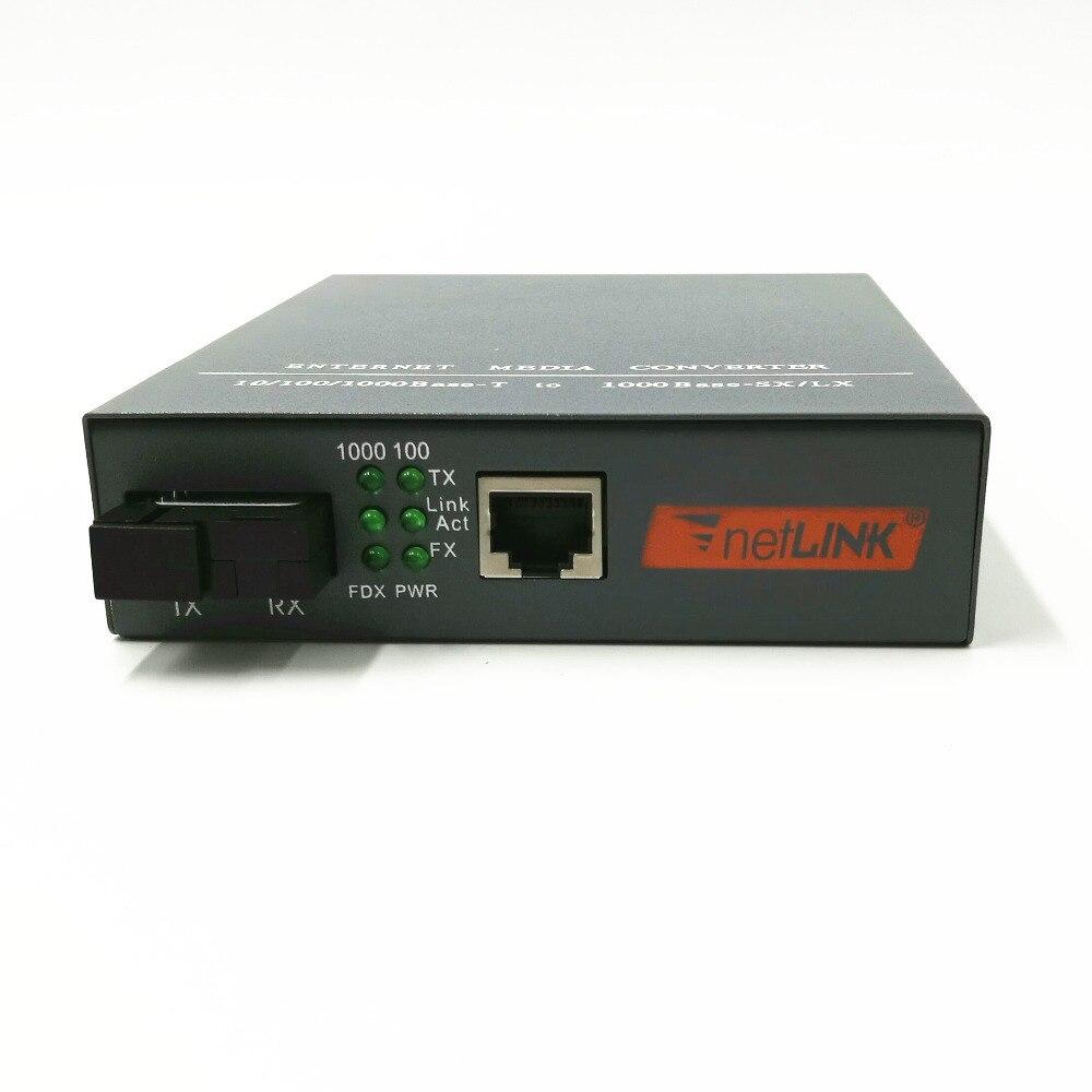 1 쌍 HTB-GS-03 A / B 기가비트 광섬유 미디어 컨버터 - 통신 장비 - 사진 3