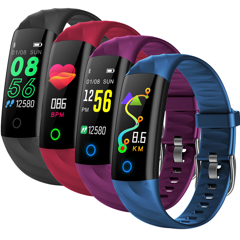 Watches Humor Smart Ip68 Braceletwaterproof Pedometer Heart Rate Blood Oxygen Monitor Fitness Tracker Smart Wristband Multi Sport Smart Band Men's Watches