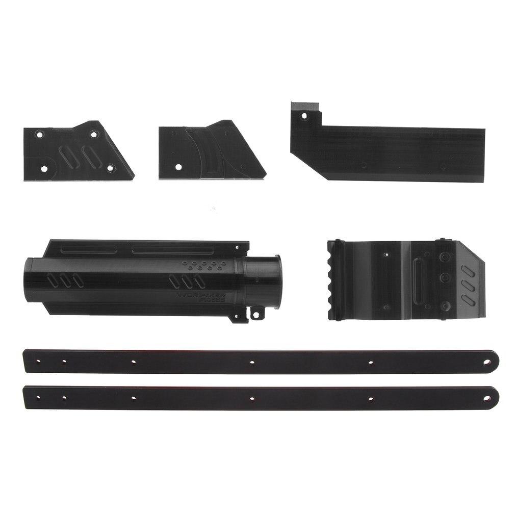 Travailleur ABL-W001 3D Impression No 150 Noir Grip Pull-down Kits Combo pour Nerf Rival Apollo XV700 Modifier Jouet gun Complice nerf mod