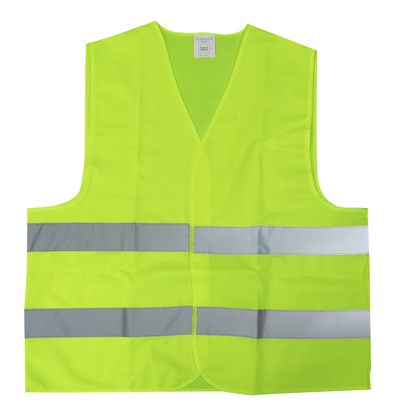 1pc Reflective safety Vest Provides High Visibility Day Night For Running Cycling Warning Safety Chaleco Reflectante safety reflective vest highlight reflector stripe for day night working