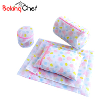 BAKINGCHEF Mesh Lingerie Laundry Bags Bra Sock Underwear Clothes Organizer House Cleaning Tool Washing Machine Accessories Case