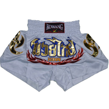 New Top Quality Unisex Embroidery Sanda Fight MMA Muay Shorts Pants Sports Thai Boxing Shorts Training Competition Wushu Pants