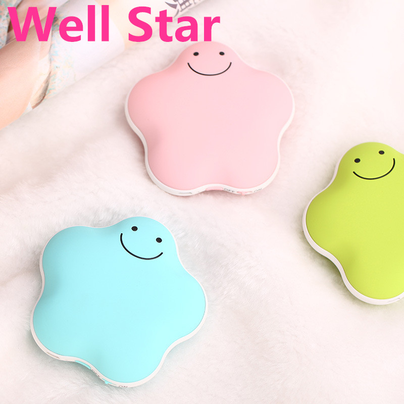 Lucky star warm hand Po explosion-proof electric USB mini charging electric heating  3600 mA charging hand warmer 2016 latest explosion proof electric hot water bottle charging warm bao bao shuang electric double plush6002