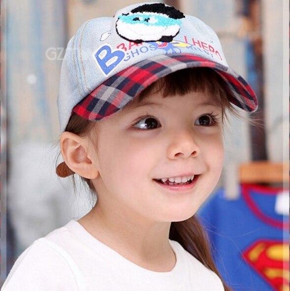 Spring and summer cartoon style baseball cap baby cap