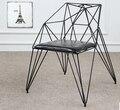 Ешьте стул алмаз выдалбливают провода стулья. чердак дизайн мебели, кованые промышленности дизайнерские стулья