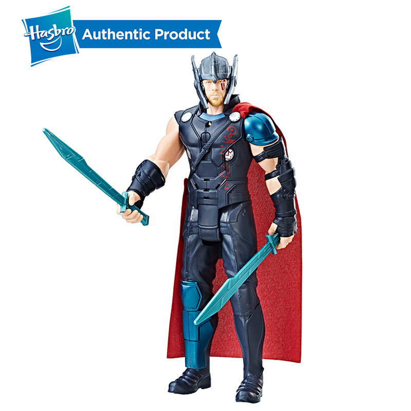 Hasbro Marvel Thor Ragnarok Electronic Thor PVC Action Figure Collectible Model Boys Toy With Sound Effects Christmas GiftsHasbro Marvel Thor Ragnarok Electronic Thor PVC Action Figure Collectible Model Boys Toy With Sound Effects Christmas Gifts