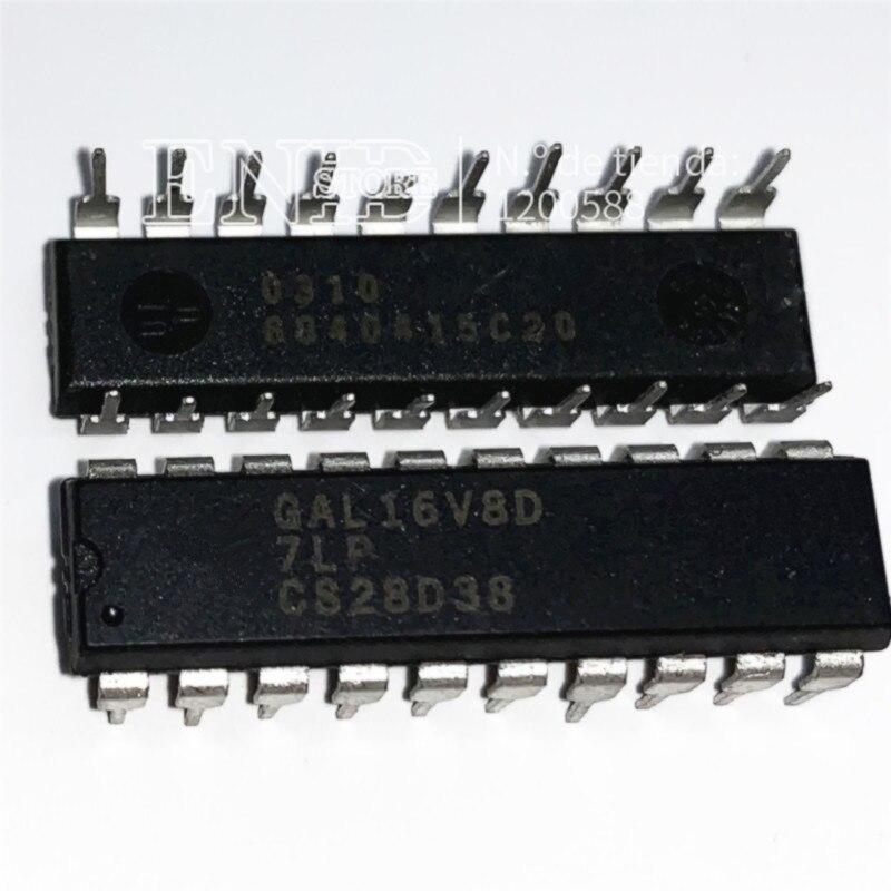5PCS IC GAL16V8D GAL16V8D-15LPN DIP-20 NEW