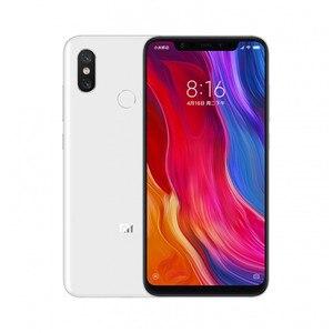 "Image 3 - Global Version Xiaomi Mi8 Mi 8 6GB RAM 64GB ROM Snapdragon 845 Octa Core 6.21"" 2248x1080 12MP Dual Rear Camera NFC Infrared"
