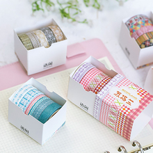 Beautiful Flower washi tape DIY decoration scrapbooking planner masking adhesive tape label sticker stationery office supplies