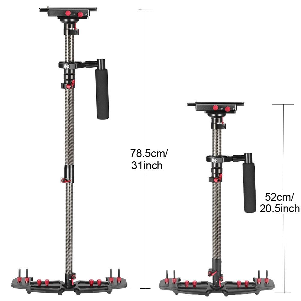 Professionele Carbon Video Steadicam Handheld Stabilizer voor Canon - Camera en foto - Foto 2
