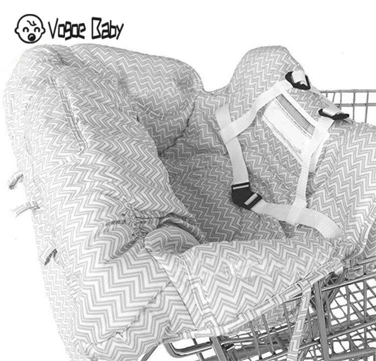 Многофункциональная детская подушка для перемещения ребенка милая детская магазинная Тележка для покупок Защитная Подушка безопасности легко переносить 7479 - Цвет: A