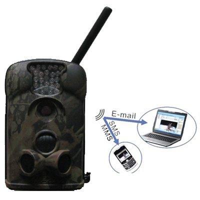 Bellota del Ltl 5210 MG X 5210 MG w / External Antenna 940nm led azul 12MP MMS / GPRS Wireless celular Trail vigilancia aire libre cámara