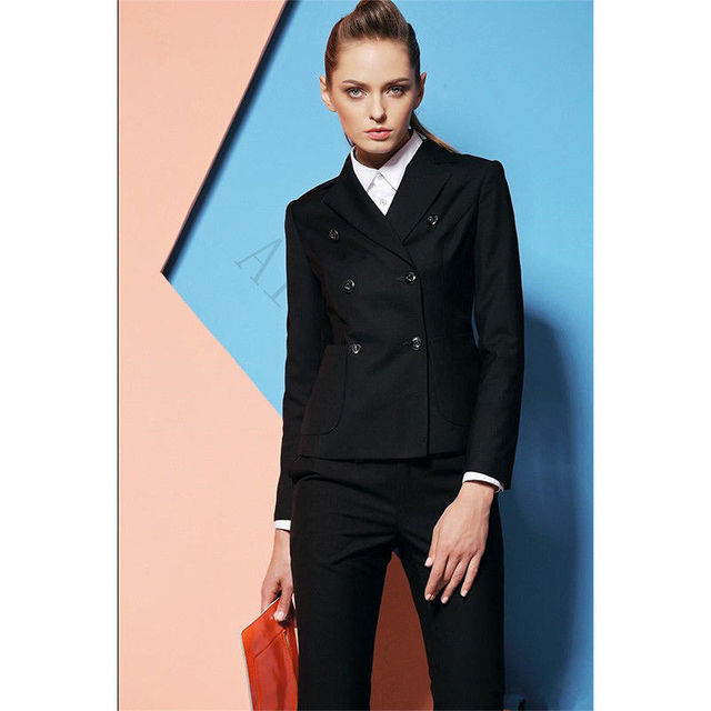 Office Uniform Designs Women Formal Pant Suits for Weddings Women ...
