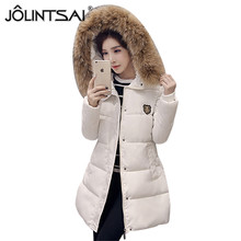 2017 Newest Winter Jacket Women Thickening Warm Down Coats Hooded Plus Size 4XL Winter Coat Women Big Fur Collar Parka