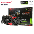 Orginal Colorful iGame 1050Ti Video Graphics Card 4G 128bit DDR5 6Pin Support HDMI DVI DP for Computer DIY Gaming PUBG