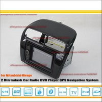For Mitsubishi Mirage 2012~2014 - Car Radio Stereo CD DVD Player GPS NAVI / HD Touch Audio Video S100 Nav Navigation System