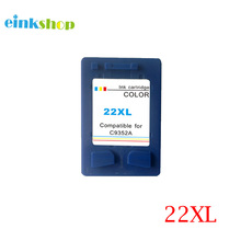 1piece Color Ink Cartridge For HP 22