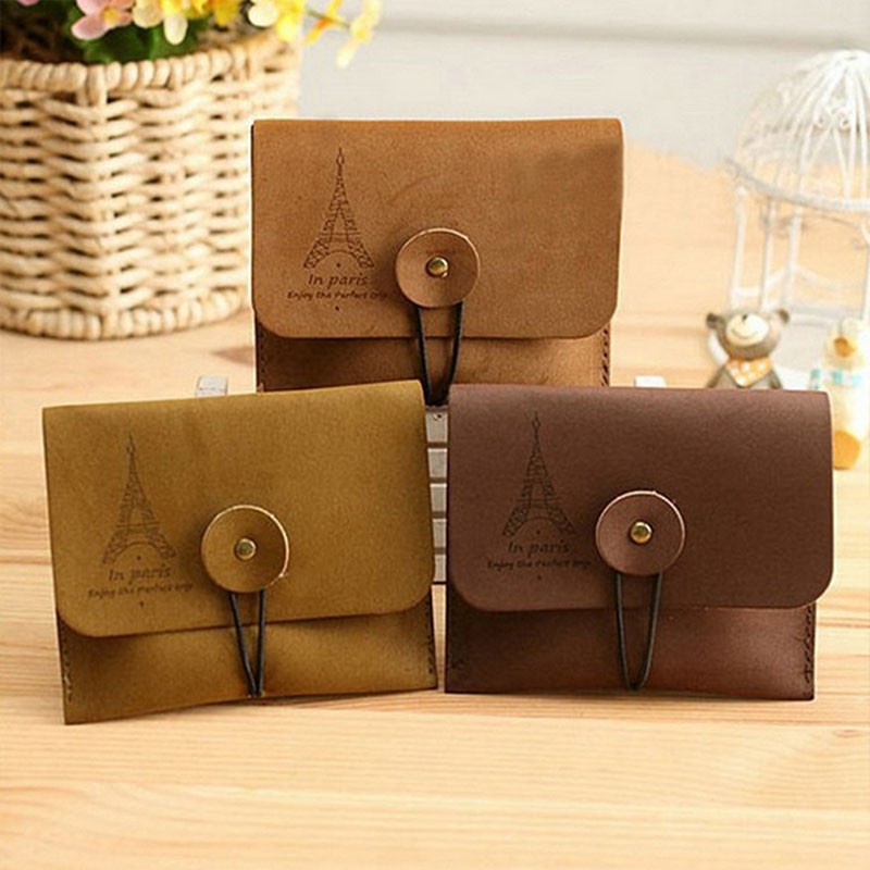 Unisex Cheapest Top PU Leather Retro Small Coin Change Purse Key Car Pouch Little Money Bag Mini Coin Wallet Free Shipping ladies cheapest canvas classic coin purse little key car pouch money bag girl s mini short coin holder wallet lxx9